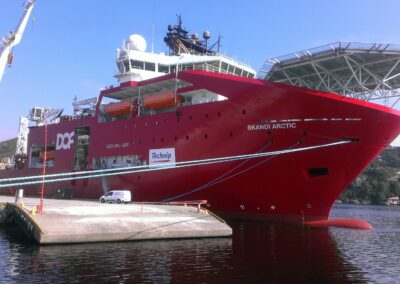 Ervik Shipping - Base Service for offshore mobilisations